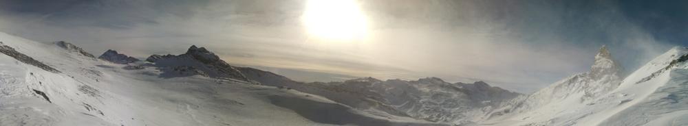 Col Blanchet - Panorama