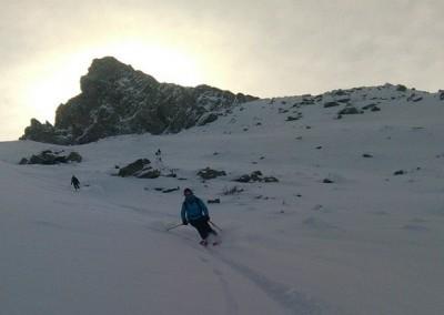 Col Blanchet - Marion devant les Toillies