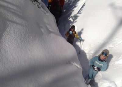 Canyon de neige