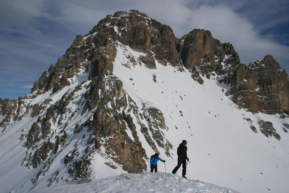 Arnaud et marion devant le Galibier