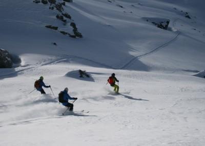 Ski en bande