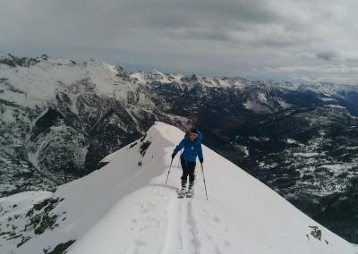 La Blanche - Easy but impressive ridge