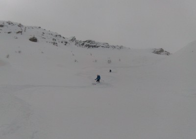 La Blanche - Enjoying the powder