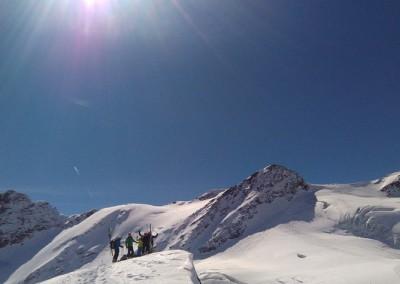 Au sommet du San Giacomo