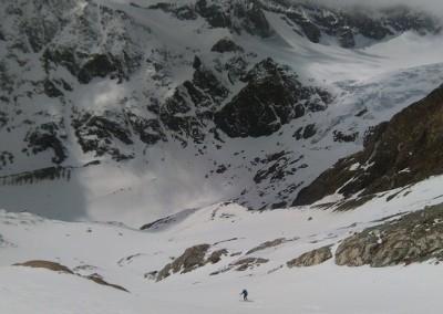 Fin du Glacier des Grandes Murailles