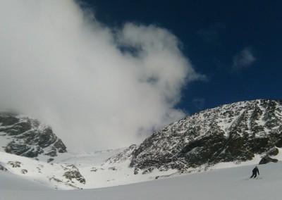 Vers le refuge Aosta