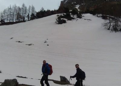 Fin de saison à l'Alpe du Lauzet