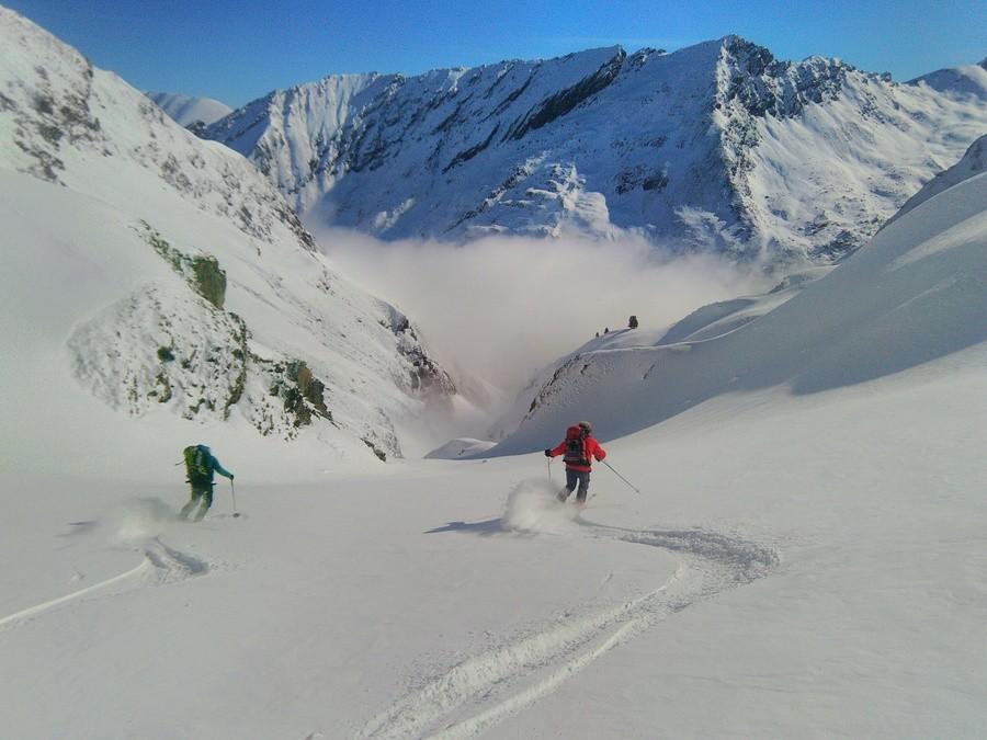 Raid ski Queyras