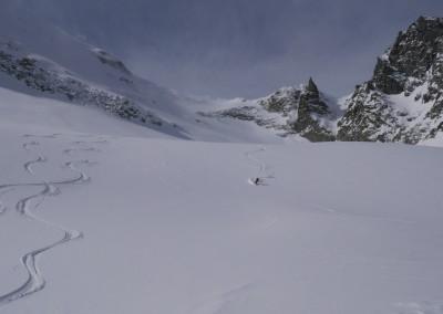 La dure vie du guide sur le Haut Glacier d'Arolla