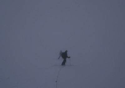 Ski encordé!