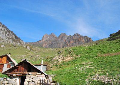 Arête Sud Tête de Gaulent - Départ des Cabanes de Tramouillon