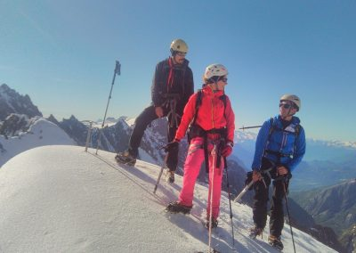 Stage initiation alpinisme - Au sommet duPic d'Arsine