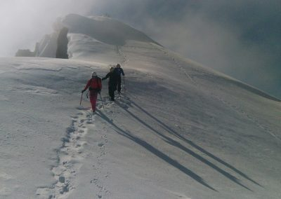 Stage initiation alpinisme - Descente du Pic d'Arsine