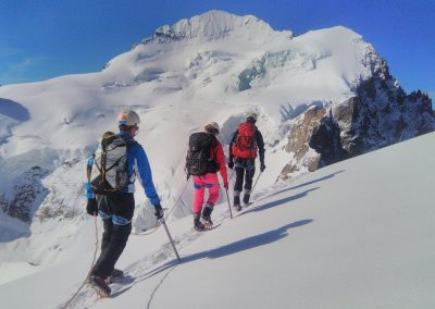 Stage initiation alpinisme - A la descente