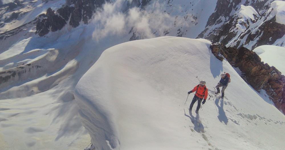 Alpinisme au Dôme des Ecrins