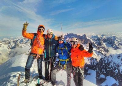 Stage Dôme des Ecrins - Summit