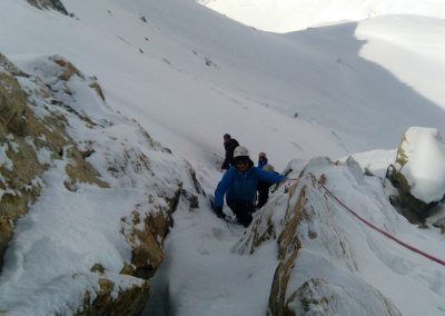 Stage initiation alpinisme - Variante en mixte au Pic d'Arsine