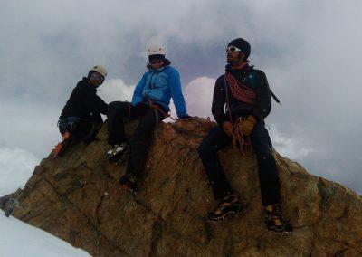 Stage initiation alpinisme - Perché sur notre caillou