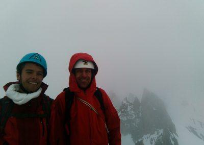Pic Nord des Cavales - Au sommet
