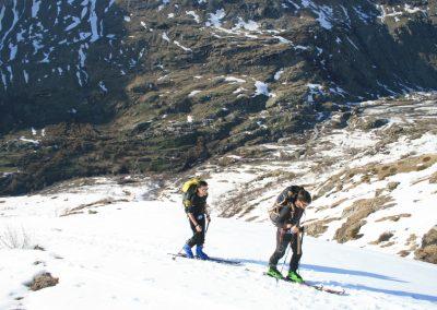 Raid ski Haute Maurienne - C'est parti!