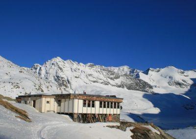 Raid ski Haute Maurienne - Première nuit aux Evettes
