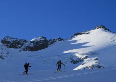 Raid ski Haute Maurienne - Lumières sur la Ciamarella