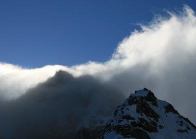 Raid ski Haute Maurienne - La nébia