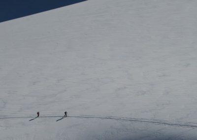 Raid ski Haute Maurienne - Skieurs