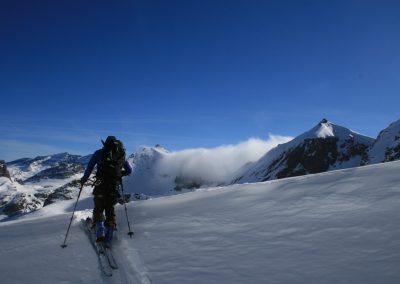 Raid ski Haute Maurienne - Vincent