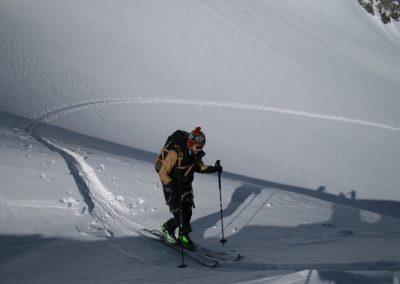 Raid ski Haute Maurienne - Oisin