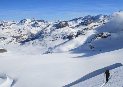 Raid ski Haute Maurienne - Ptite vue!