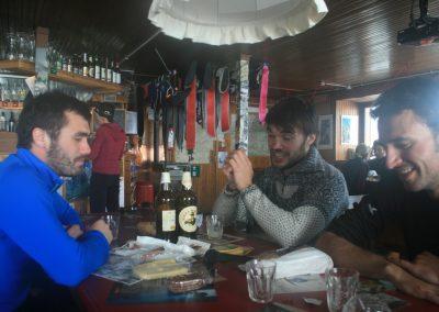 Raid ski Haute Maurienne - Détente à Gastaldi