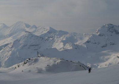 Raid ski Haute Maurienne - Il fait encore beau