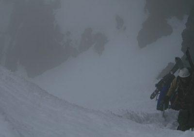 Raid ski Haute Maurienne - Ambiance fantomatique