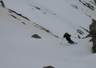 Raid ski Haute Maurienne - Dans le chaos