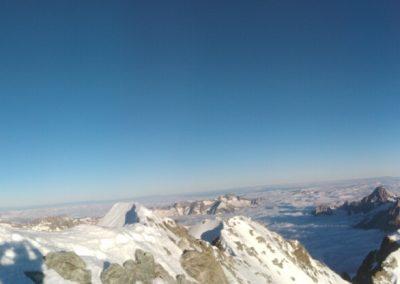 Barre des Ecrins - Panoramique par là