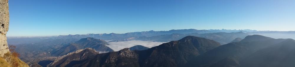 Mer de nuage vue des 3 Becs