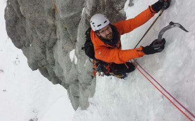 Le Grand Laus – Cascade de glace