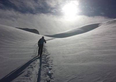 Initiation ski de randonnée - tête du Crachet - Tout simplement bow