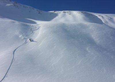 Initiation ski de randonnée - tête du Crachet - Puisqu'on est obligé!