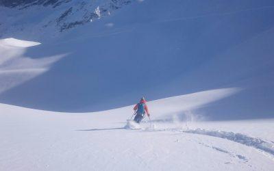 Tête du Crachet – Initiation ski de randonnée