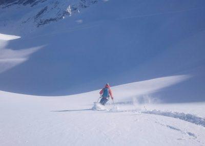 Initiation ski de randonnée - tête du Crachet - La rude vie du guide