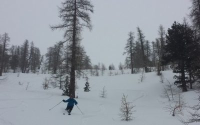 Ski de rando à Maloqueste