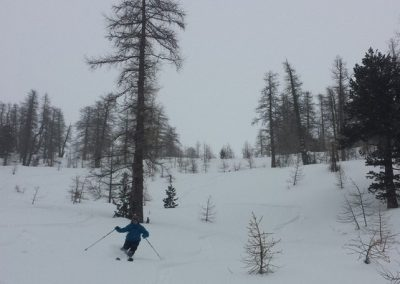 Ski de randonnée - Maloqueste - Karl au travail