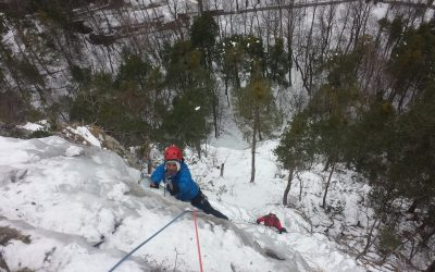 Cascade de glace de la Schappe