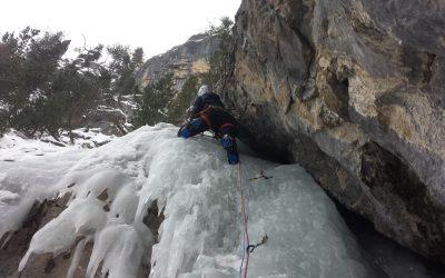 Ski et cascade dans la journée!