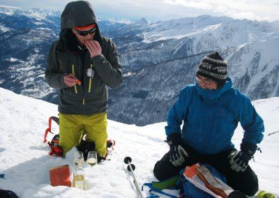 Ski de randonnée Pelvoux - Petit en cas franco-norvégien
