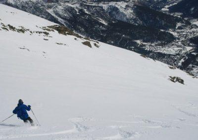 Ski de randonnée Pelvoux - Talonné de prêt par Karl