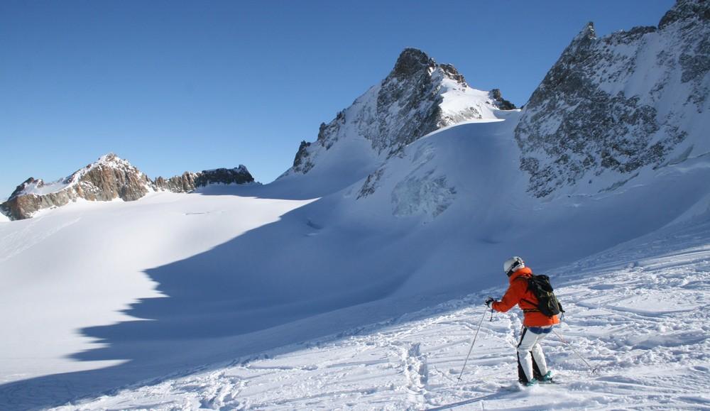 Hors piste - La Grave - Sur le Glacier de la Girose