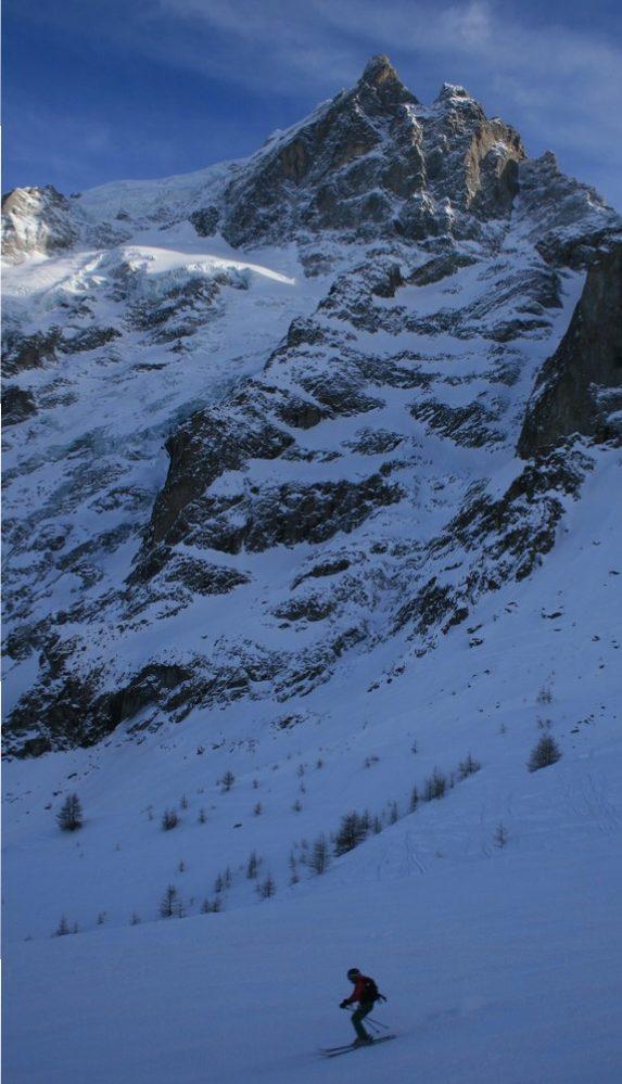 Hors piste - La Grave - Dernière descente dans les vallons
